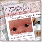 6221 - Spec.Tech.Tutorials : How to Paint delicate Eyebrows
