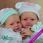 AW300247 - Dollkit 20 - Marc & Mary -Limited ...... € 159,00 - Pre Order